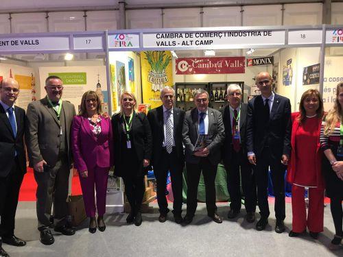 La Cambra de Comerç de Valls ha participat amb 30 empreses a la XL Fira d'Andorra la Vella