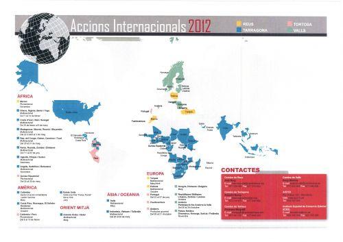 ACCIONS INTERNACIONALS 2012