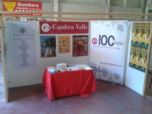 PARTICIPACIÓ DE LA CAMBRA DE VALLS A LA FIRA DE VILA-RODONA
